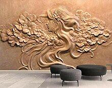 munxin-3D Tapete Schönheitsblumenkunstmuster
