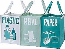 Murago - 3er Set Mülltrenner Mülltrennsystem