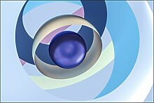 Muralo Fototapete 3D Effekt 180 x 270 cm Vlies
