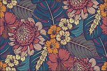 Muralo Fototapete Blätter Natur 240 x 360 Vlies