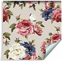 Muralo Fototapete Blumen 1000 x 53cm Vliestapete