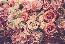 Muralo Fototapete Blumen 180 x 270 cm Vlies Tapete