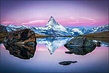 Muralo Fototapete Gebirge 180 x 270 cm Vlies
