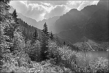 Muralo Fototapete Gebirge 210 x 315 cm Vlies
