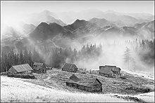 Muralo Fototapete Gebirge 240 x 360 cm Vlies