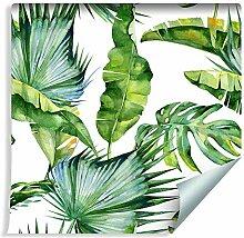 Muralo Fototapete Pflanzen Blätter 1000 x 53 cm