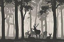 Muralo Fototapete Wald - Für Kinder 300 x 450