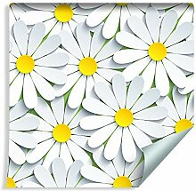 Muralo Tapete Blumen - Kamille 3D Vlies Pflanze