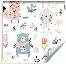 Muralo Tapete Für Kinder 10mx53 cm Vlies Tapete