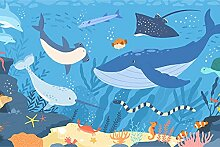 Muralo Vlies Fototapete 90 x 60 Natur Ozean Meer