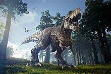 Muralo Vlies Fototapete 90 x 60 T-Rex Dinosaurier
