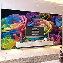 MuralXW Fototapete Moderne Wohnzimmer TV