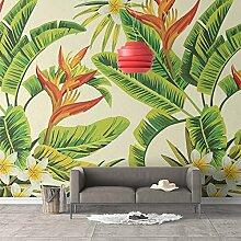 MuralXW Fototapete Tropische Pflanzen Nahtlose