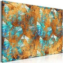 murando Akustikbild Blätter 90x60 cm Bilder