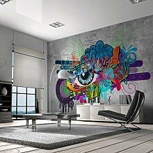 murando - Fototapete 400x280 cm - Vlies Tapete - Moderne Wanddeko - Design Tapete - Wandtapete - Wand Dekoration - Graffiti 10110905-10