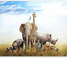 murando - Fototapete Afrika Tiere 200x140 cm -