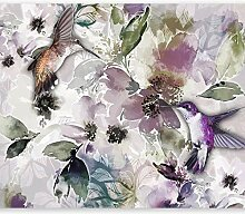 murando - Fototapete Blumen Aquarell 350x256 cm -