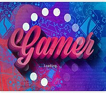 murando Fototapete für Gamers 200x140 cm Vlies