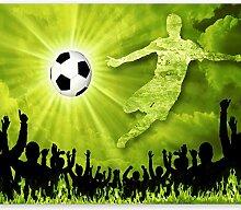 murando - Fototapete Fussball 400x280 cm - Vlies