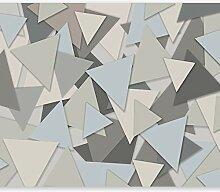 murando - Fototapete geometrisch Dreiecke 350x256