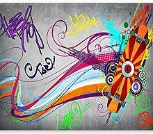 murando - Fototapete Graffiti 100x70 cm - Vlies