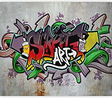 murando - Fototapete Graffiti 150x105 cm - Vlies