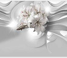 murando - Fototapete Lilien Abstrakt 400x280 cm -