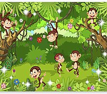 murando - Fototapete Monkey Affe 100x70 cm - Vlies