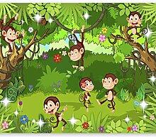 murando - Fototapete Monkey Affe 300x210 cm -