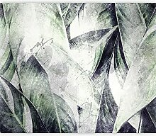 murando Fototapete selbstklebend Blätter 294x210