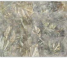 murando Fototapete selbstklebend Blätter 98x70 cm