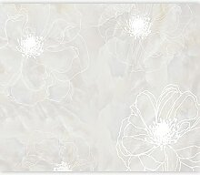 murando Fototapete selbstklebend Blumen 196x140 cm