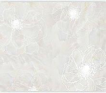 murando Fototapete selbstklebend Blumen 441x315 cm