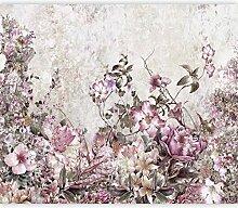 murando Fototapete selbstklebend Blumen Vintage