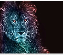 murando Fototapete selbstklebend Löwe 147x105 cm