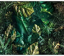 murando Fototapete selbstklebend Monstera 392x280