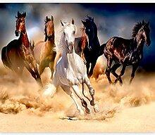 murando Fototapete selbstklebend Pferde 196x140 cm
