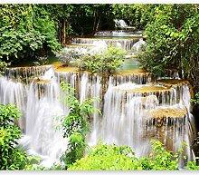 murando Fototapete selbstklebend Wasserfall