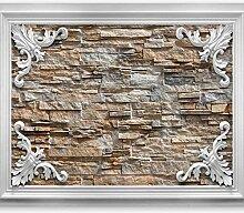 murando - Fototapete Stein Optik 200x140 cm -