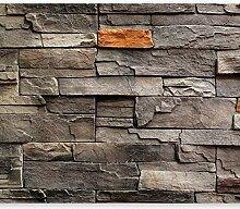 murando - Fototapete Steinwand 300x210 cm - Vlies