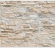 murando - Fototapete Steinwand 450x315 cm - Vlies