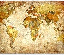 murando - Fototapete Weltkarte 350x256 cm - Vlies