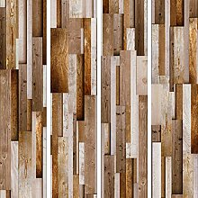 murando - PURO TAPETE selbstklebend Holzoptik 10m