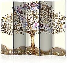 murando Raumteiler Baum Foto Paravent 225x172 cm