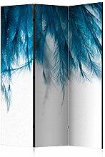 murando Raumteiler Feder Foto Paravent 135x172 cm