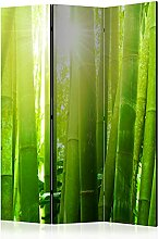 murando Raumteiler Foto Paravent Bambus 135x172 cm