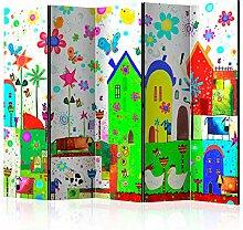 murando Raumteiler Foto Paravent für Kinder