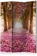murando Raumteiler Foto Paravent Wald 135x172 cm