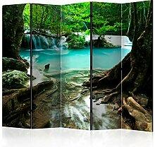 murando Raumteiler Foto Paravent Wasserfall