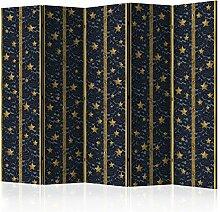 murando - Raumteiler Mozaik Ornament - Foto Paravent 225x172 cm - beidseitig auf Vlies-Leinwand bedruckt - Blickdicht & Textile Haptik - Trennwand - Spanische Wand - Sichtschutz - Raumtrenner - Deko - Design - bunt blau rot gelb f-C-0009-z-c